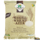 24 Mantra ORGANIC  whole wheat atta 2 lb