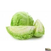 Organic Cabbage - 1 head (2.5 lb)