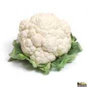Organic Cauliflower - 1 Head