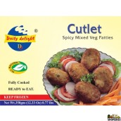 Daily Delight Vegetable Cutlet - 12.33 Oz
