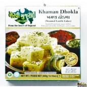 Garvi Gujarati Frozen khaman dhokla - 400 Gms