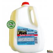 Fresh Breeze Organic Whole Milk - 1 gal