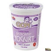 Gopi Fat Free Yogurt - 2 lb