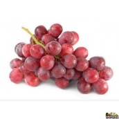 Red seedless Table Grapes - 2 lb (aproximate)