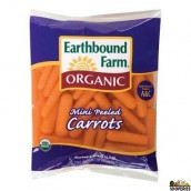 Organic Peeled Baby Carrots - 1 lb