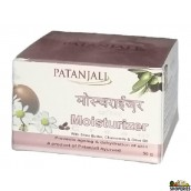 Patanjali Moisturizer Cream - With Shea Butter, Chamomile & Olive Oil, 50 Gm