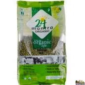 ORGANIC GREEN MOONG DAL WHOLE - 4 lb