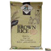 ORGANIC Brown Sona masoori rice - 10 lb