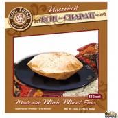 Roti Fresh Uncooked whole wheat Roti Chapati - 12 Rotis)