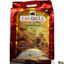 Lal Qilla Classic Whiteline Basmati Rice - 10 lb