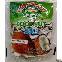Sukhiana Organic Unsweetened Coconut Slices - 7 Oz