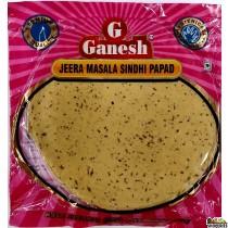Ganesh Jeera Masala Sindhi Papad - 200g