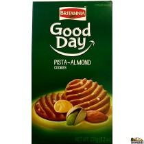 Britannia Good Day Biscuits Pista-Almond - 231g (8.2oz)