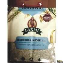 Laxmi ORGANIC Brown Sona masoori rice - 10 lb