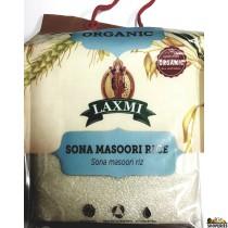 Laxmi ORGANIC Sona masoori rice - 10 lb (white)