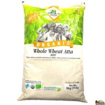 ORGANIC  whole wheat atta 10 lb
