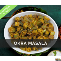Hyderabad House Okra Masala