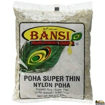 Bansi super thin poha - 2 lb (Parched Rice)