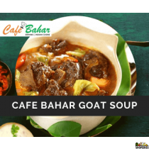 Café Bahar Goat Soup