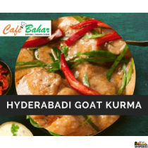 Hyderabadi Goat Kurma