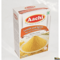 AACHI Lentils and Spices (Paruppu podi) POWDER for rice 7 Oz