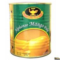 Deep Alphanso Mango Pulp - 850 g