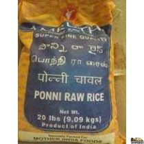 Amrutha Ponni Raw Rice - 20 lb