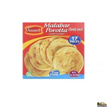 Anand Frozen Malabar Parotta 2 lb (17 Pcs)