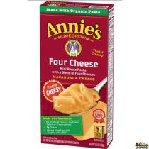 Annies home grown four cheese Organic Mini Penne Pasta - 6 Oz