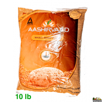 Aashirvaad whole wheat Atta - 11 lb