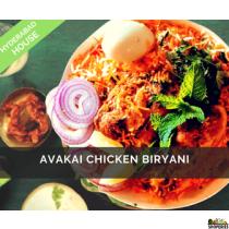 Hyderabad House Avakai Chicken Biryani