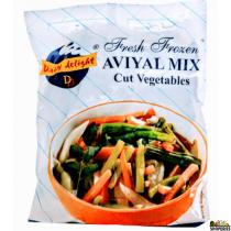 Daily Delight Aviyal Mix (Frozen) - 1 lb