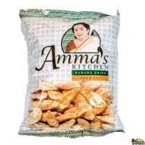 Ammas Kitchen Banana Chips 4 Way Cut 400 Gms