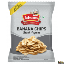 Jabson Banana Chips Black Pepper 150g (2 Count)
