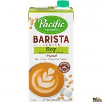 Barista Pacific Soy Milk 32 Fl Oz