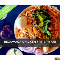 Hyderabad House Bezawada Chicken Fry Biryani
