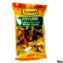 Anand Fryums Round Color 400 Gms (14 OZ)