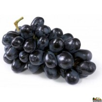 Black seedless Grapes - 2 lb