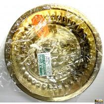 Brass Haldi kumkum Plate