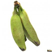 Green Burro Banana ( 2 Count - 1 lb approximate )