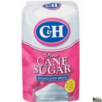 C&H pure granulated cane Sugar - 4 lb