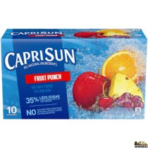 Caprisun Organic Fruit punch