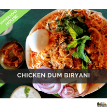 Hyderabad House Chicken Dum Biryani