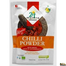 ORGANIC  CHILLI POWDER 7 OZ