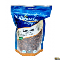 Dwaraka Organic Clove Whole 7 oz