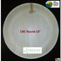 GREENX 10Inch Deep Round Plate (25 Plated)