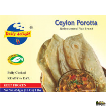 Daily Delight Cylon Parotta (Frozen) - 1 lb