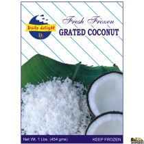 Daily Delight Fresh Frozen Grated Coconut 1 lb