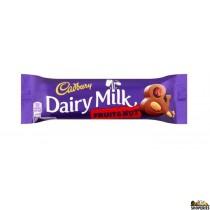 Cadbury Fruit and nut Chocolate bar - 3.5 Oz