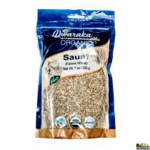 Dwaraka Organic fennel seeds 7 oz